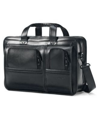Samsonite Professional Leather 2 Pocket Business Case
