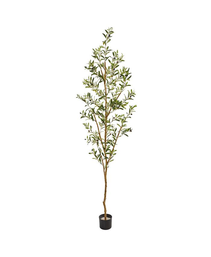 """Nearly Natural - 82"""" Olive Artificial Tree"""