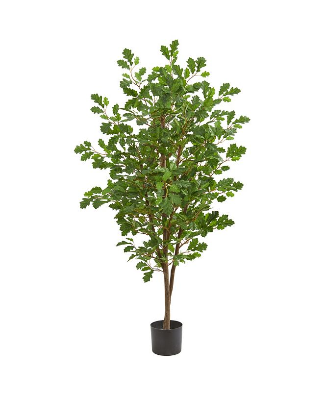 Nearly Natural 5' Oak Artificial Tree