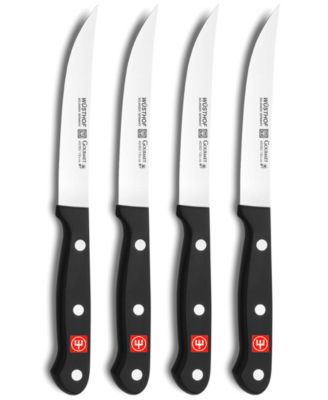 Wusthof Gourmet Steak Knife Set, 4 Piece