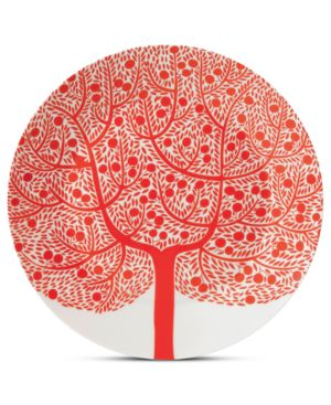 Royal Doulton Dinnerware, Fable Accent Plate Red Tree