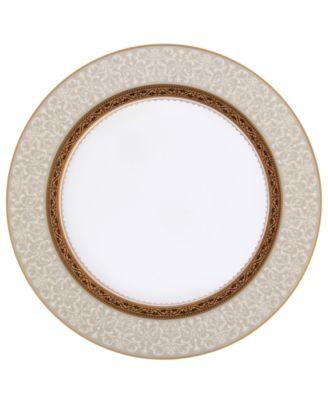 Noritake Dinnerware, Odessa Gold Accent Plate