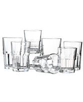 The Cellar Glassware with Fluted Shape, Elena 30 Piece Set