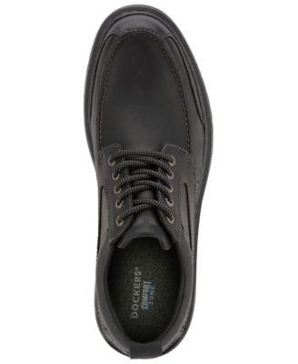 Overton Moc-Toe Leather Oxfords