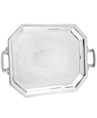 Godinger Serveware, Octaganol Handled Tray