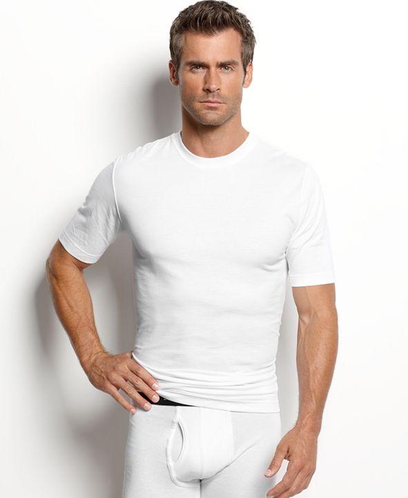 Jockey men's tagless slim-fit 3-pack crewneck Undershirt