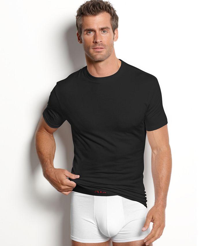 Alfani - T Shirts, Crew Neck T Shirt 2 Pack