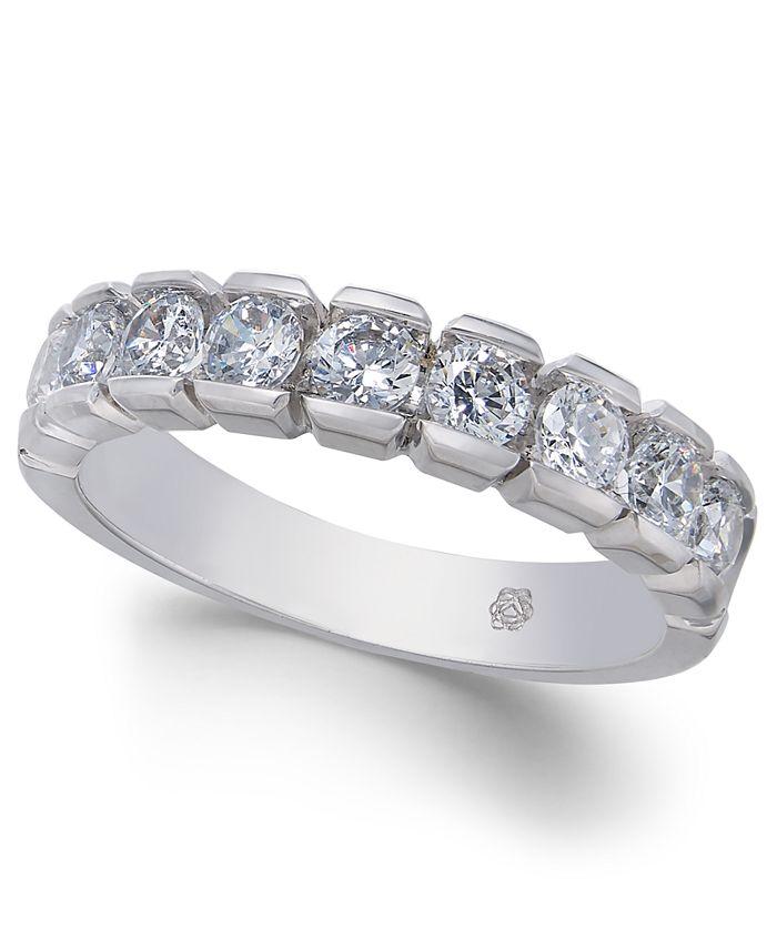 Macy's - Diamond Band (1 ct. t.w.) in 14k White Gold