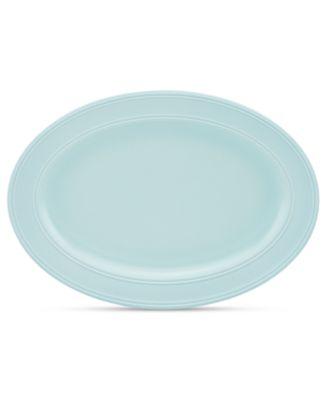 kate spade new york Dinnerware, Fair Harbor Bayberry Medium Oval Platter