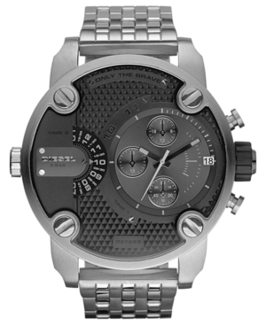 Diesel Watch, Chronograph Stainless Steel Bracelet 51mm DZ7259