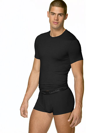 Calvin klein men 39 s micro modal basic t shirt underwear for Modal t shirts mens