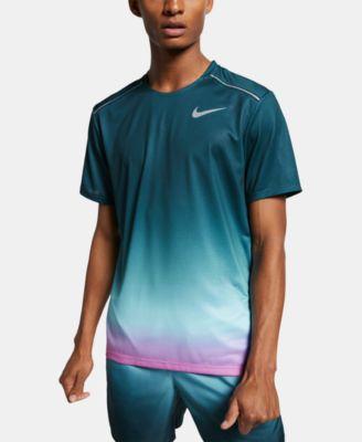Nike Men's Miler Dri-FIT Ombré T-Shirt