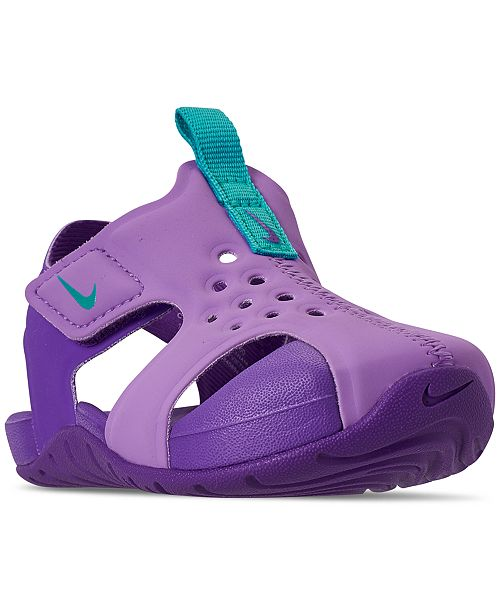 Nike Toddler Girls' Sunray Protect 2 Sandals from Finish Line ...