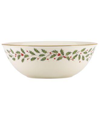 Lenox Holiday Large Bowl