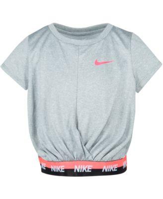 Nike Toddler Girls Cropped Dri-FIT Logo