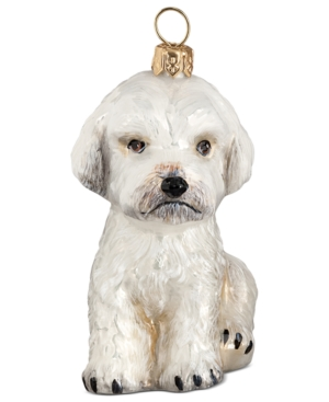 Joy to the World Pet Ornament, Maltipoo