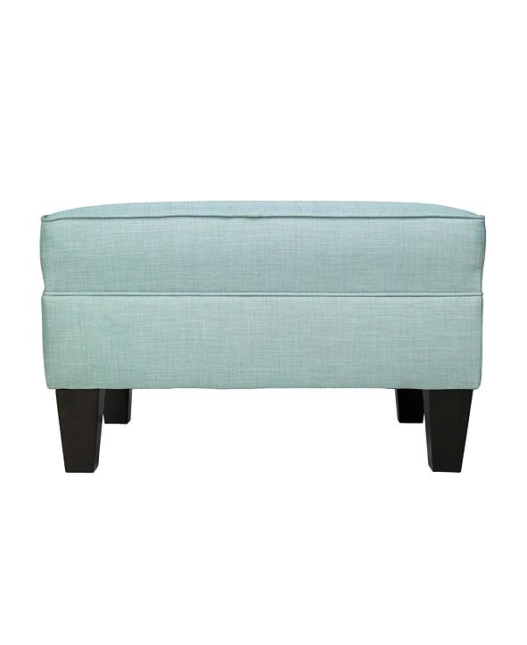 MJL Furniture Designs Madison Squared Upholstered Oversized Ottoman