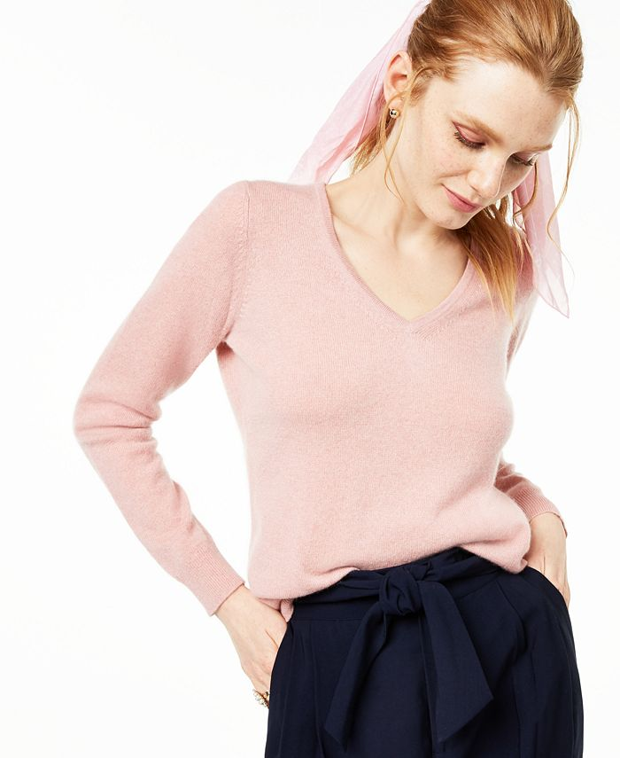 Charter Club - V-Neck Cashmere Sweater
