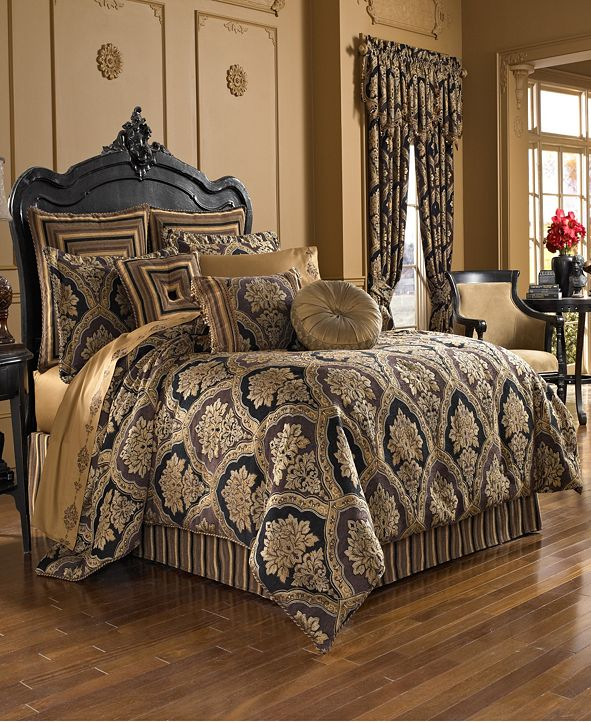 J Queen New York Five Queens Court Reilly Bedding Collection