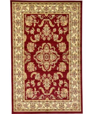 Passage Psg5 Red 5' x 8' Area Rug