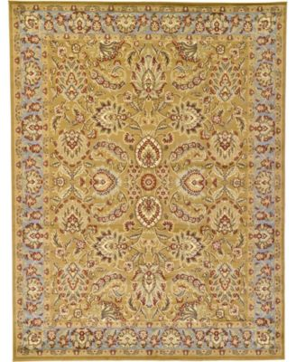 Passage Psg9 Dark Yellow 9' x 12' Area Rug