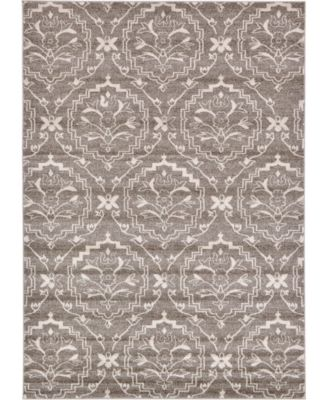 Felipe Fel2 Light Brown 7' x 10' Area Rug
