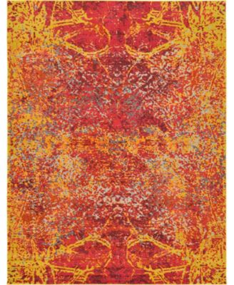 Newwolf New3 Red 9' x 12' Area Rug