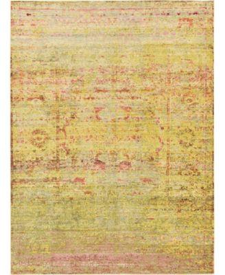 Malin Mal8 Yellow 7' x 10' Area Rug