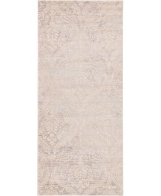 """Caan Can5 Taupe 2' 7"""" x 6' Runner Area Rug"""