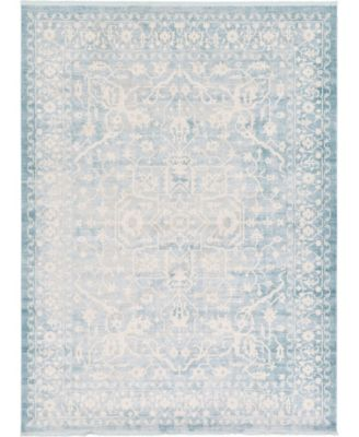 Norston Nor1 Blue 9' x 12' Area Rug