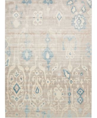 Caan Can9 Beige 5' x 8' Area Rug