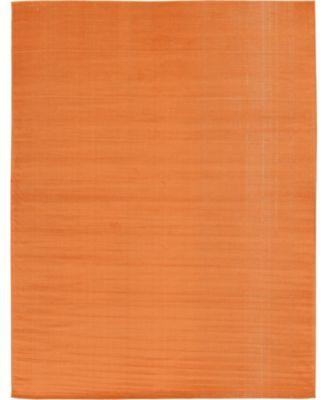 Axbridge Axb3 Orange 9' x 12' Area Rug