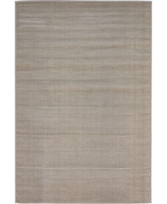 Axbridge Axb3 Gray 4' x 6' Area Rug