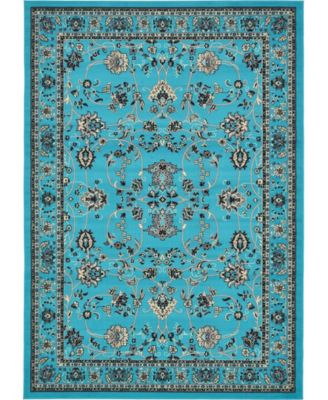 Arnav Arn1 Turquoise 7' x 10' Area Rug