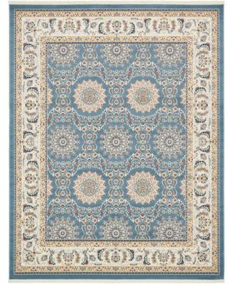 Zara Zar8 Blue 8' x 10' Area Rug
