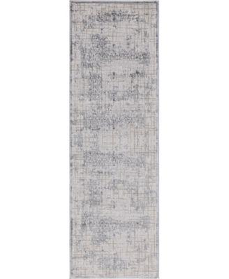 """Aitana Ait2 Gray 2' 7"""" x 8' 2"""" Area Rug"""