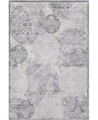 Aitana Ait3 Gray 4' x 6' Area Rug