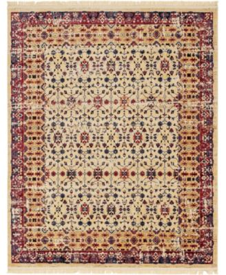 Borough Bor2 Beige 8' x 10' Area Rug
