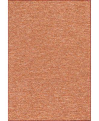 """Pashio Pas8 Terracotta 6' 3"""" x 9' Area Rug"""