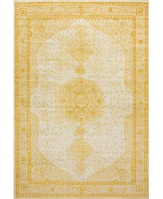Mobley Mob1 Yellow 10' x 14' Area Rug