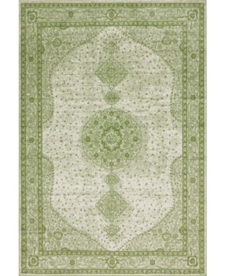 Mobley Mob1 Green 10' x 14' Area Rug