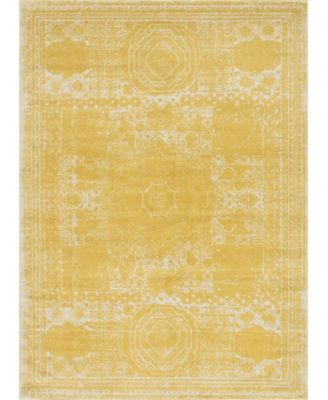 Mobley Mob2 Yellow 9' x 12' Area Rug