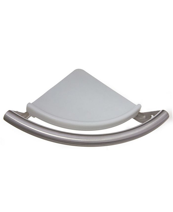 Arista Bath Products - Safety Assist Corner Shelf