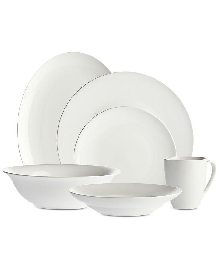 Godinger - Bradford 34-Pc. Dinnerware Set, Service for 8