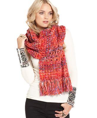 free scarf crochet fringe macy s