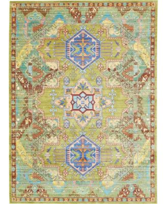 "Malin Mal5 Light Green 7' x 9' 10"" Area Rug"
