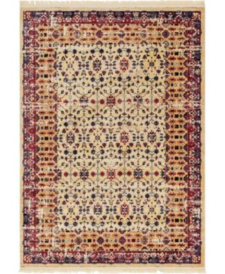 Borough Bor2 Beige 7' x 10' Area Rug