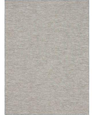 """Pashio Pas8 Light Gray 7' 5"""" x 10' Area Rug"""