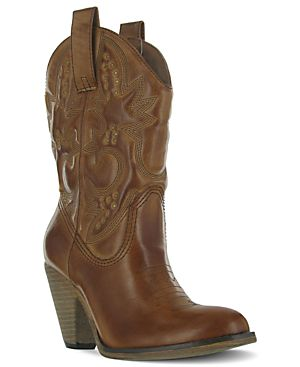 Mia Larue Western Booties