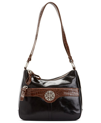 Giani Bernini Florentine Glazed Leather Filigree Hobo